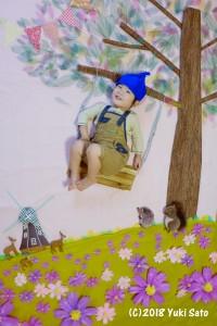 森のブランコ~コスモス畑~3.JPG
