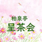 【10/23】柏泉亭 呈茶会 開催